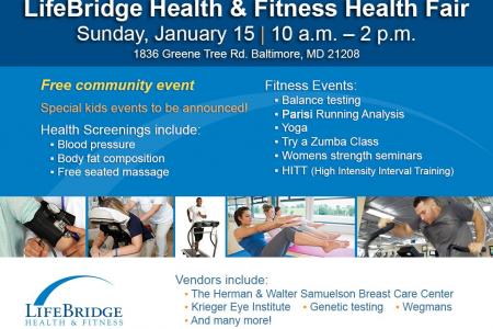 LifeBridge Health & Fitness Health Fair