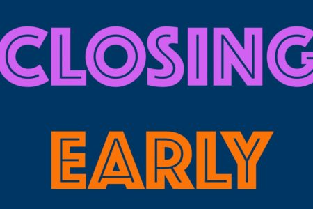 Early Closing Thursday